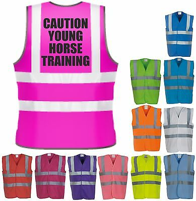 Horse Training Horse Riding Hi-Vis Visibility Saftety Vest Equestrian Waistcoat