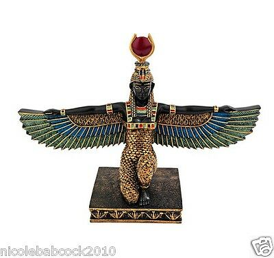 "ancient ""Isis, Egyptian Goddess of Beauty Protecter of children fine collectible"