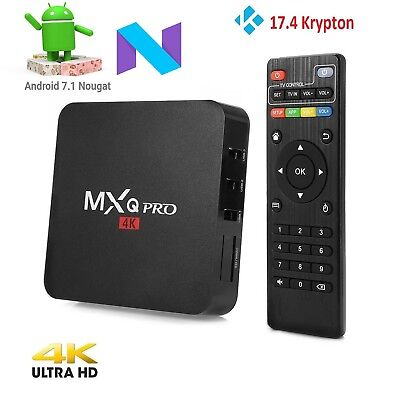 Pro Android TV Box 64 Bit Amlogic S905X Android 6.0 Marshmallow V 17.3 Krypton