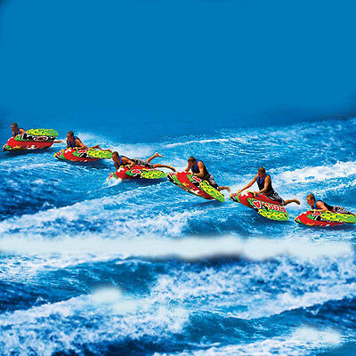 WOW Bazooka Controlable Flexi Wing Towable Ski Tube Inflatable Biscuit Boat Ride