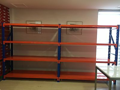 Limited time only 1920kg Heavy Duty garage shelving Rack 4 Meters Joint