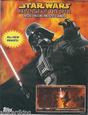 STAR WARS - Revenge of the Sith  - Promotional Sell Sheet - TOPPS 2005