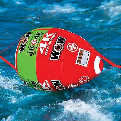Wow Tow Bobber Inflatable Tow Rope Ball for Fuel Saving Ski Tube Riding