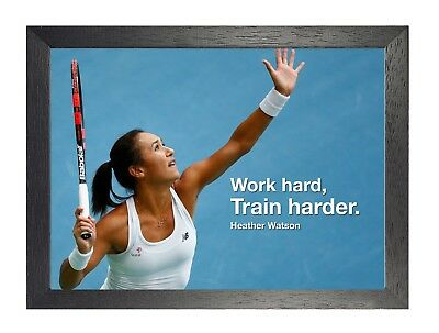 """Team GB 13 Motivational Quote Olympics /""""Working Hard.Training Harder./"""" Poster"""