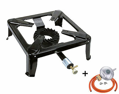 5.8kW Gas Stove Burner Large Cooker Boiling Ring Restaurant Catering Outdoor NEW