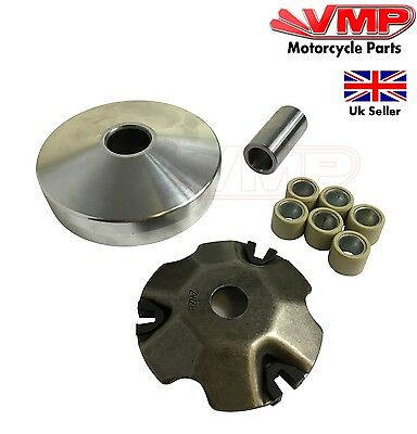 Drive Belt Variator Pulley Roller Set 139QMA 139QMB for Peugeot V-Clic 50