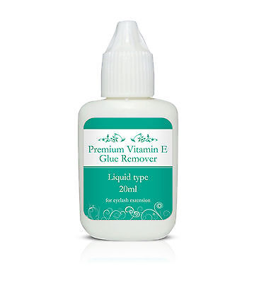 Premium Liquid Glue Remover with Vitamin E 10/20ml - Eyelash Extensions