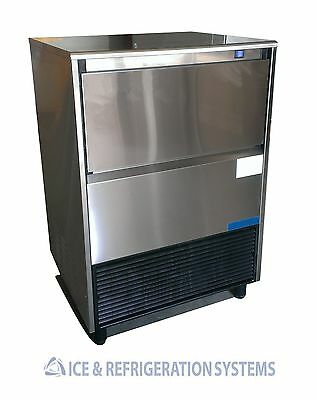 Stainless Steel 95Lb  Commercial  Undercounter Ice Machine  Maker
