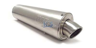 """16"""" SuperTrapp Muffler Exhaust Tunable Canister Brushed Stainless 1-3/4"""""""