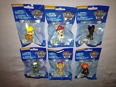 Nickelodeon Paw Patrol 1.5 INCH PUP MINI FIGURE - NEW