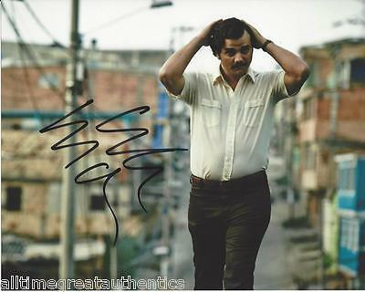 Wagner Moura Signed Narcos Tv Show 8X10 Photo A Coa Proof Pablo Escobar Netflix