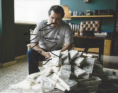 Wagner Moura Signed Narcos Tv Show 8X10 Photo F Coa Proof Pablo Escobar Netflix