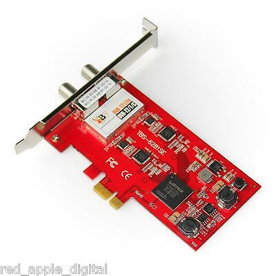 New Product Tbs 6281 Se Dvb-T2 Hd Twin Pc Freeview Card