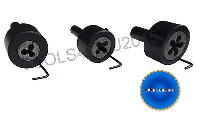 TAILSTOCK DIE HOLDERS : 3 Pcs. SET