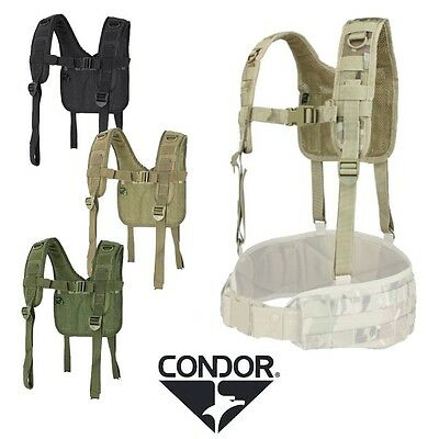 Condor H-Harness Suspenders Quick Attachements Webbing Free UK Shipping