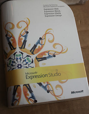 Microsoft Expression Studio NEW SEALED