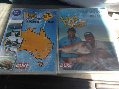 Hook line and sinker road trip & season 6 dvds BRAND NEW FREE POST