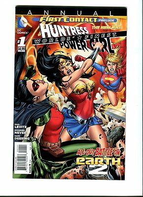 Worlds ' Finest Annual 1 DC 2014 - FN +