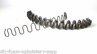 Serpentine D'arc Zigzag Upholstery Springs With Clips Diy Upholstery Repair Kit