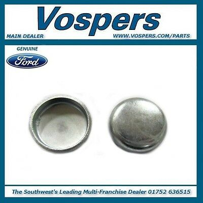 Genuine Ford Various Models 25mm Cylinder Head Core Plugs x2 1455107
