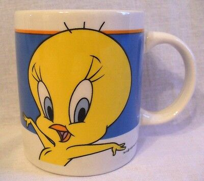 TWEETY BIRD Looney Tunes Coffee Mug Warner Bros. by Gibson 1999