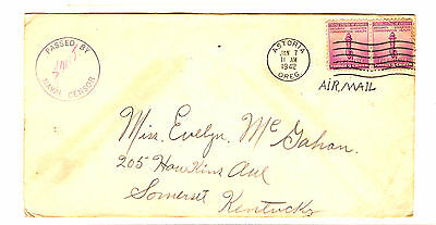 Air Mail Censur Wwii