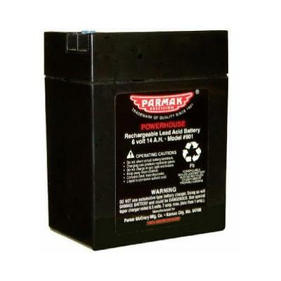 Parker Mc Crory Mfg 901 Battery For Parmak Solar Fence Charger, 6-Volt