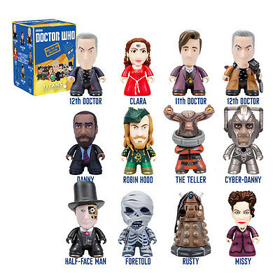 "Doctor Who Titans 3 "" Vinyl Rebel Timelord Series Your Choice"