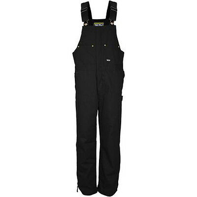 Walls W9303BK Insulated Heavyweight Duck Bib Overalls-Med- FREE PRIORTY SHIPPING
