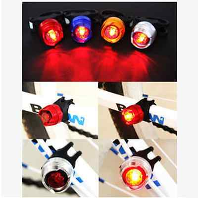 New Durable Stunning Bike Bicycle Helmet Red LED Rear Light 3 Modes Tail Lamp cx