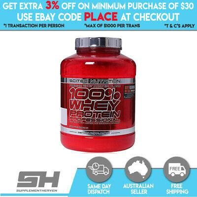 Scitec Nutrition 100% Whey Protein Professional 5Lbs - 2.35Kg Wpi Wpc