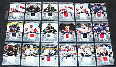 2006-07 UD Trilogy Honorary Swatches Game Used Jersey UPick Lot Upper Deck 06/07