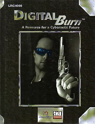 DIGITAL BURN-A Resource for a Cybernetic Future-Roleplaying Game-(HC)-very rare