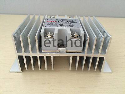 Solid State Relay From SSR-25DA 25A To SSR-100DA 100A + M Type Heat Sink
