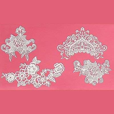 Cake Lace - Edible- Sweet Lace - Cake Decorations