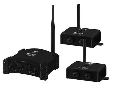 Stageline Wireless System for Active Loudspeakers Transmit Audio Wirelessly