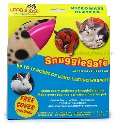 Snuggle Safe Heat Pad + Free Cover. Premium Service. Fast Dispatch.