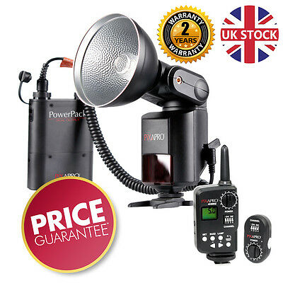 HYBRID360 Manual Bare Bulb Flash Godox AD360 +Triggers *2 Year warranty*UK stock