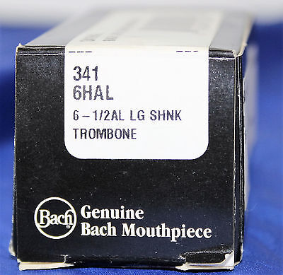 Vincent Bach 3416HAL Large Shank Trombone Mouthpiece 6 1/2AL * FREE SHIPPING *