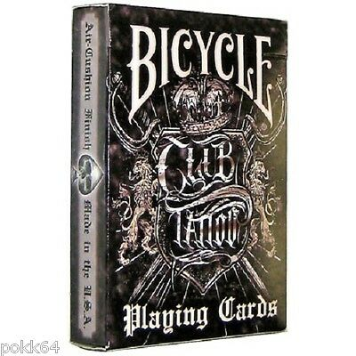 Jeu de cartes BICYCLE CLUB TATTOO poker et magie 54 cartes de collection 203406