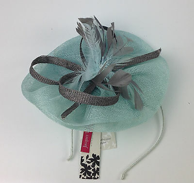 Jacques Vert Sinamay Fascinator One Size MSRP $215.00
