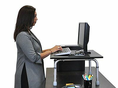 "24"" Adjustable Height Standing Desktop Desk"