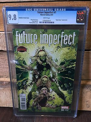 Future Imperfect #1 Cgc 9.8 Nm/mt Gwen Stacey Variant Cover