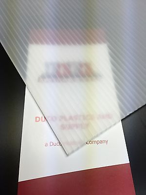 4mm Translucent 24 x 36 (4 pack) Corrugated Plastic Coroplast Sheets Sign