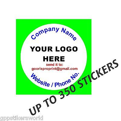 Personalised Business Name Stickers, Thank You, Envelope Seals Your Logo Labels