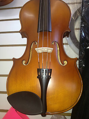 "Rossetti Viola 16"" Black Carry Case & Bow & Essential Elements Viola 2000 Book 2"