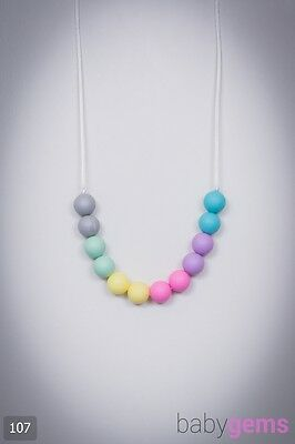 Silicone Teething Necklace Jewellery 107 BPA Free