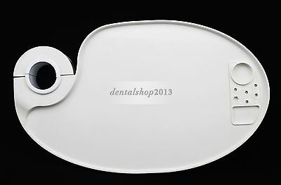 Dental Post Mounted Tray Plastic Table Rotatable Plate for dental Chair Unit