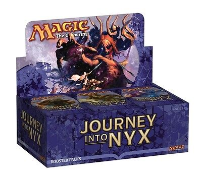 MAGIC THE GATHERING CCG - Journey Into Nyx Cards Factory Sealed Booster Box #NEW