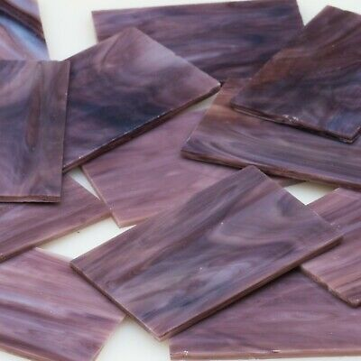 Twilight Coloured Stained  Mosaic Glass  - 8 Sheets